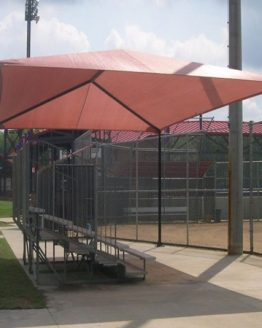 Apollo Sunguard Bleacher Shade Covers