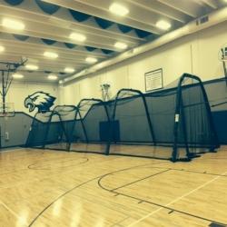 BATCO Accordion Folding Batting Cage (72? Long)