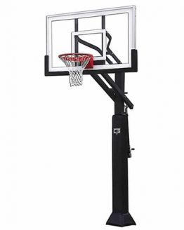 First Team Champ Height Adjustable Basketball Goal