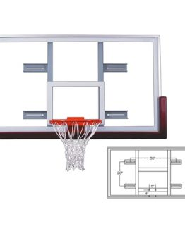 First Team FT 240 Conversion Rectangular Glass Backboard