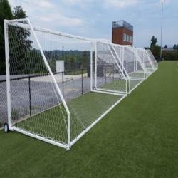 First Team Portable Aluminum Soccer Goal (Round Tube)