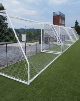 First Team Portable Aluminum Soccer Goal (Round Tube)