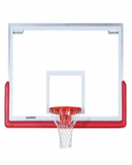 Porter 208 Center-Strut Rectangular Glass Backboard