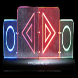 Power Ad Clear LED Double Bonus/Possession Arrow