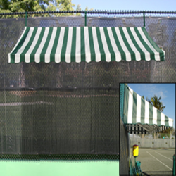 Putterman Fence Mount Shade Cabana