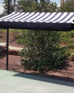 Putterman Fence Mount Shade Canopy