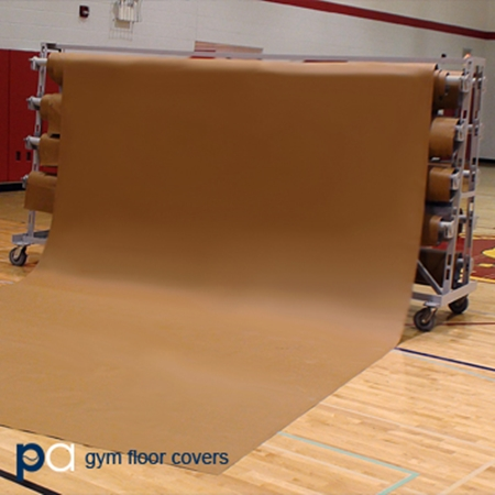 Putterman Laminated Gym Floor Cover